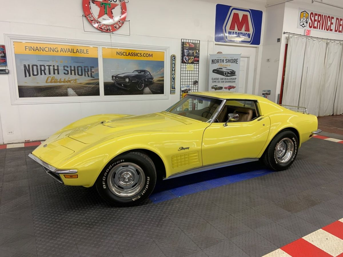 1970 Chevrolet Corvette -STINGRAY - COUPE - LOTS OF FACTORY OPTIONS - COLD