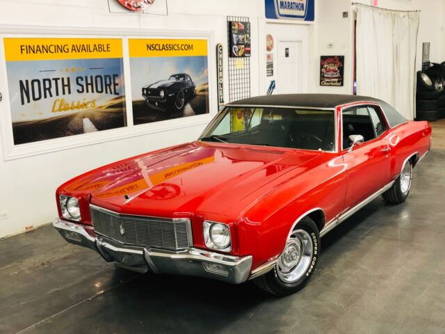 1971 Chevrolet Monte Carlo -NEW ARRIVAL-FACTORY BIG BLOCK-P/S-P/B/-A/C-REAR D
