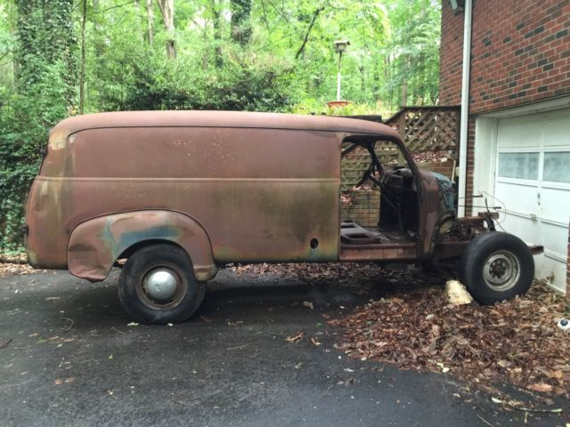 1949 Chevrolet Panel van 3800 GRAVEDIGGER truck bus turbo diesel  3800