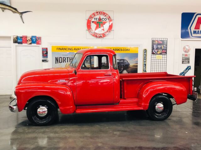 1953 Red Chevrolet Other -SHOW TRUCK-3100-FRAME OFF RESTORED 5 WINDOW PICK Pick-Up with Black interior