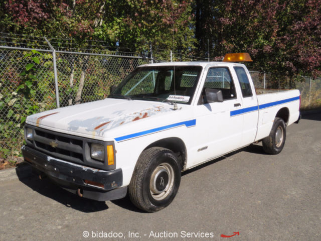 Chevrolet S10 Extended Cab Pick Up Truck 4 3l V6 Five Speed Automatic 6 Bed A C For Sale Photos Technical Specifications Description