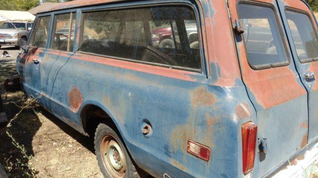 Chevrolet Suburban Chevy 3 door 2wd 1969 67 68 70 71 72 for sale
