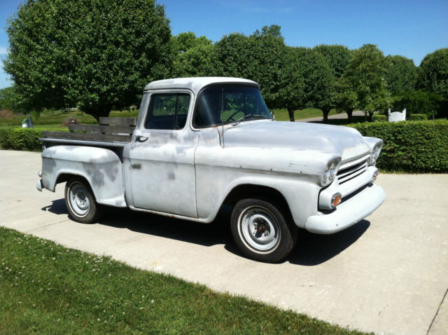 1959 Chevrolet Other Pickups 3100 Apache sidestep