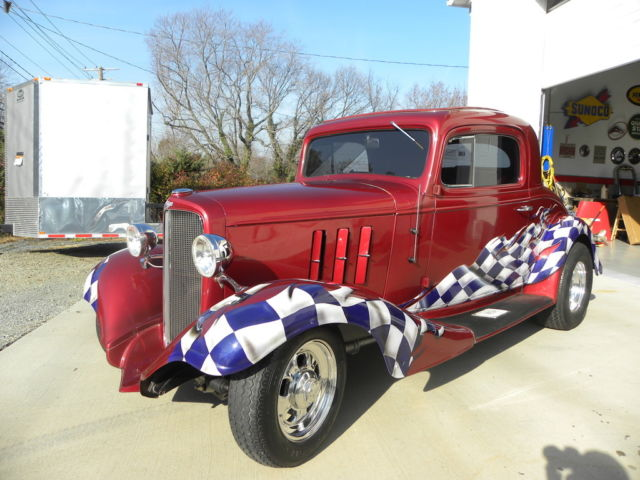 1933 Chevrolet Other STREET ROD MASTER 3 WINDOW COUPE