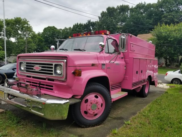 Chevy C60 Fire Truck For Sale Photos Technical Specifications