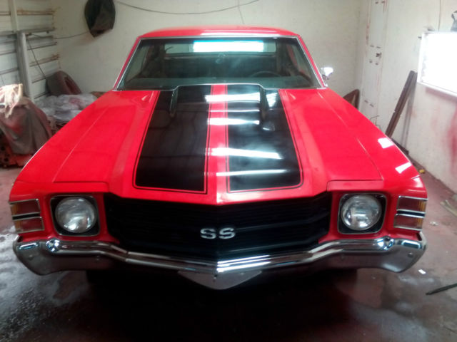 1971 Chevrolet Chevelle factory heavy chevy