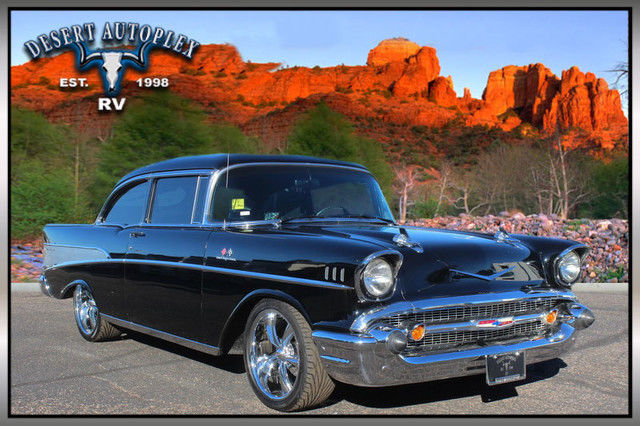 1957 Chevrolet Bel Air/150/210 2-Door Sedan Corvette Fuel Injection Amazing