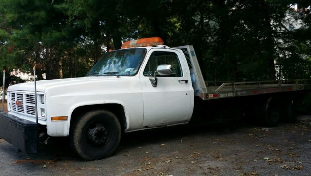 1988 Chevrolet Other Pickups gmc flatbed rollback jerr dan 454