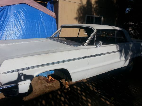 Chevy Impala Ss Lowrider Project For Sale Photos Technical