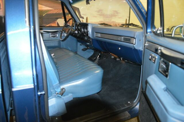 1984 Blue Chevrolet Other Pickups PICK UP with Blue interior