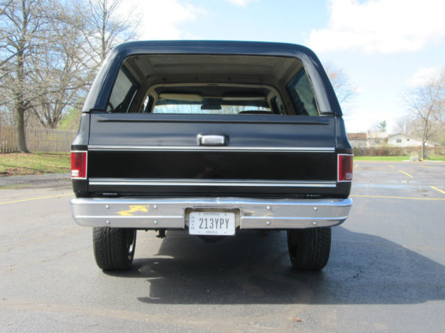 Chevy K5 Blazer Rare 2wd Drive Custom Paint And Rims