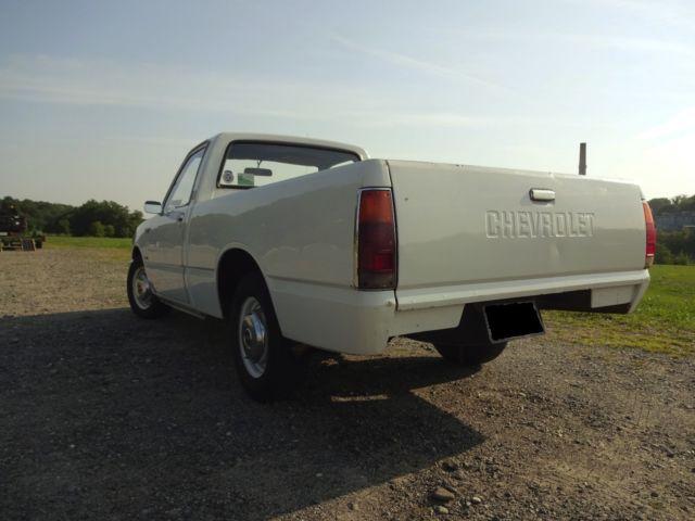 Chevy LUV Pickup Diesel Biodiesel 1982 Isuzu P'up Pup Faster