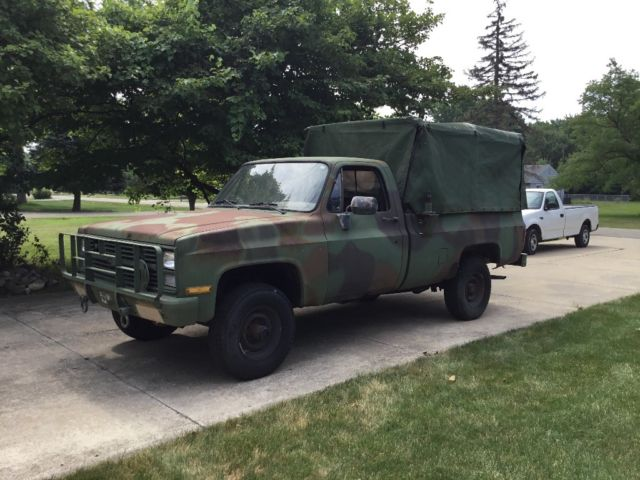 Chevy M1008 cucv military army truck for sale: photos
