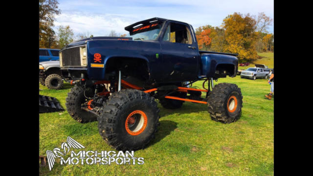 Chevy Mega Truck 73 Short Box Chevy 4x4 For Sale Photos Technical