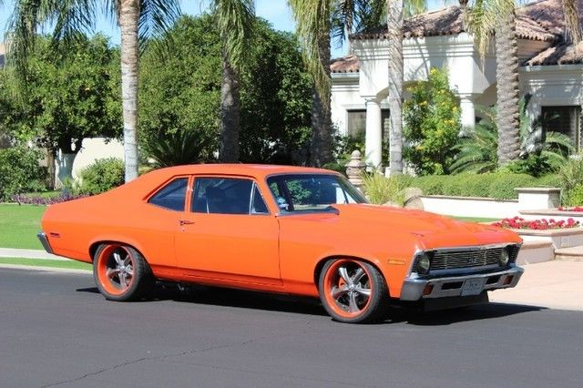 1972 Chevrolet Nova 850HP  Pro Touring Custom 2-Door Coupe