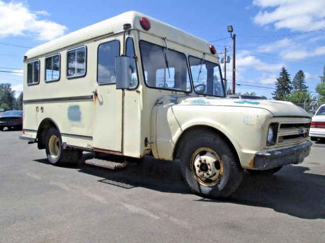 1967 Chevrolet Bus Motor Home