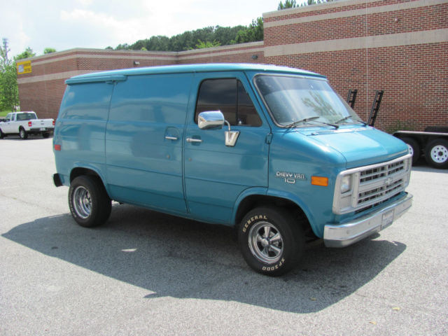 chevy van g10 shorty california van for sale  photos