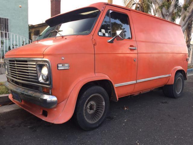 ce2eacdd38 Chevy van g10 shorty survivor for sale  photos