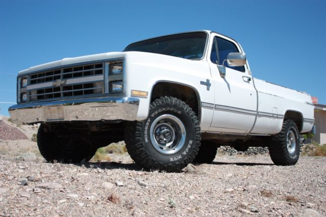 chevy  gmc 1986 chevrolet 1  2 ton pickup auto trans 4x4 a  c