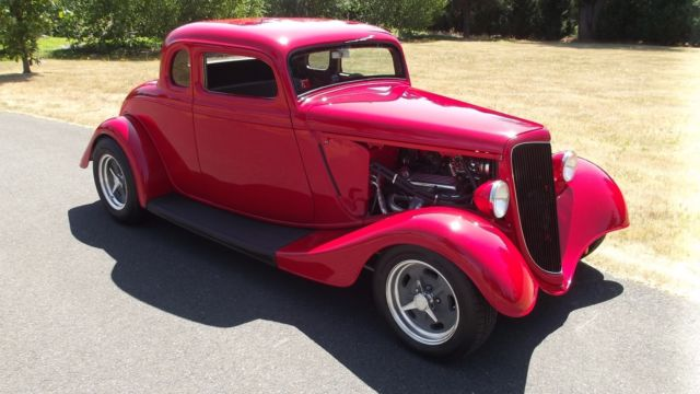1934 Ford CHOPPED FIVE WINDOW COUPE CHOPPED FIVE WINDOW COUPE