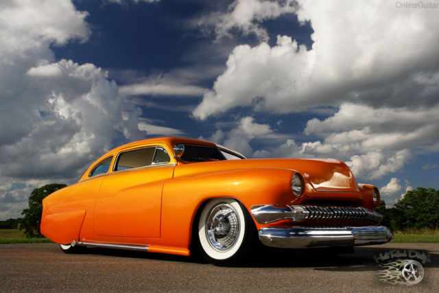 1951 Mercury Other Chopped Hot Rod Custom Sunset Merc