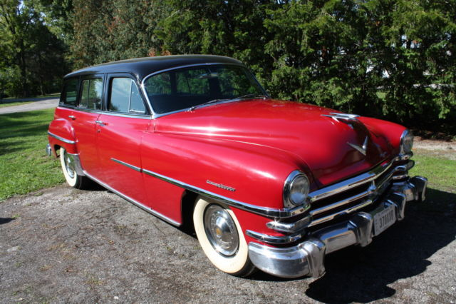 1953 Chrysler Town & Country town and country