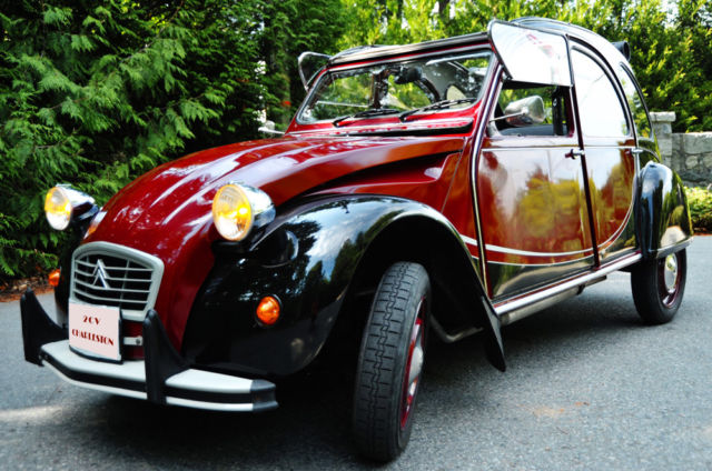1982 Citroën AX 2cv Charleston