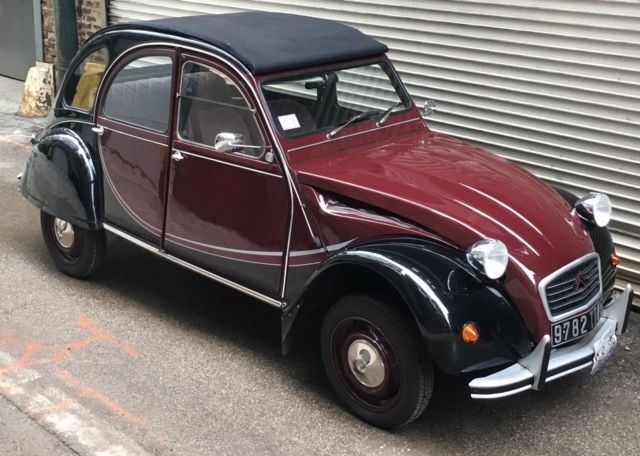 citroen deux chevaux 2cv for sale photos technical specifications description. Black Bedroom Furniture Sets. Home Design Ideas