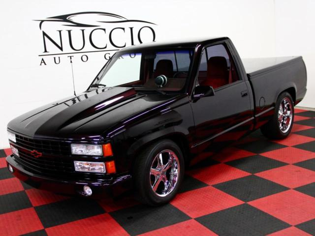 C/K 1500 SS 454 Pick Up Truck - Black/ Red - 37K Miles