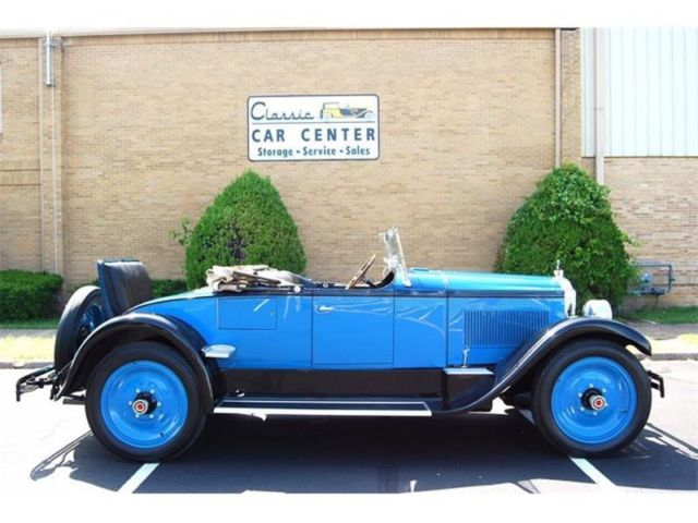 1926 Packard Single Six convertible