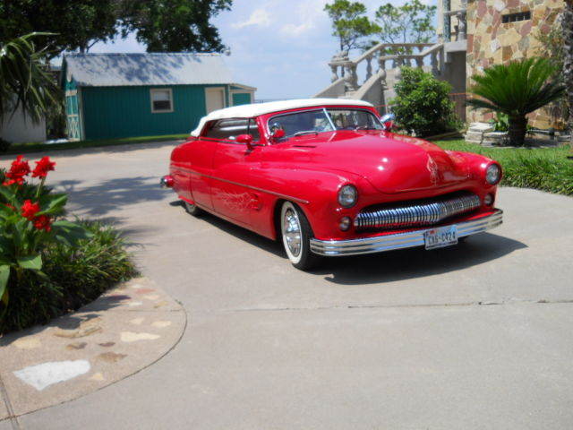 classic 1950 mercury custom 4 door convertible for sale photos technical specifications. Black Bedroom Furniture Sets. Home Design Ideas
