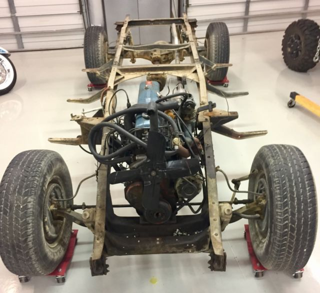 Classic Chevy Ton Rolling Chassis Vintage Thrift Master Drivetrain