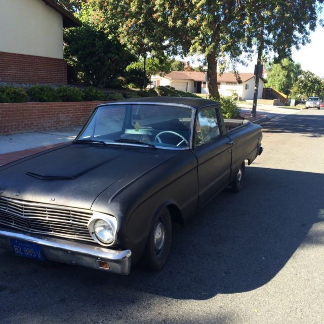 classic 1961 ford ranchero hot rod