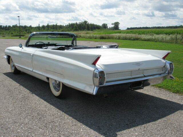 1962 White Cadillac Other Convertible with Black interior