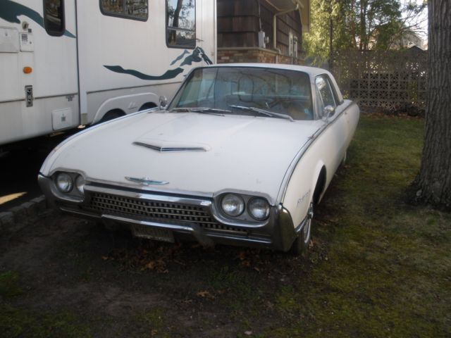 1962 Ford Thunderbird Bucket Seats, Console, Auto