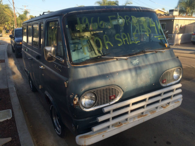 1966 Ford E-Series Van 1966 Ford Falcon Club Wagon/Econoline (Heavy Duty)