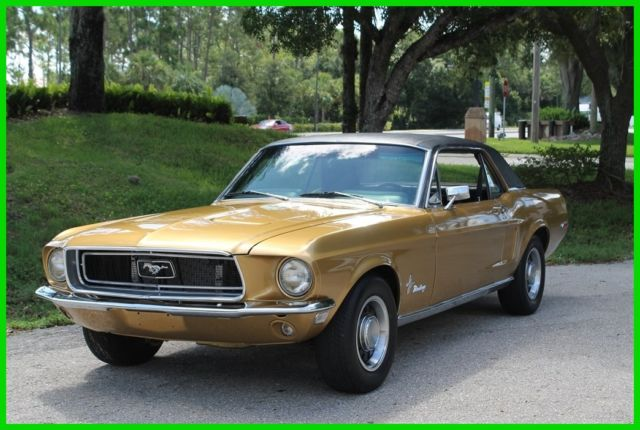 1968 Ford Mustang 289 V8 C-Code Coupe