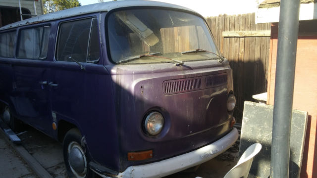 Classic 1968 Vw Bus Sundial Camper Project Vehicle for sale: photos, technical specifications ...