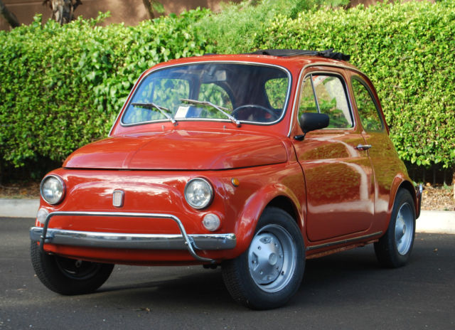 1969 Fiat 500 Restored, reliable and fun!