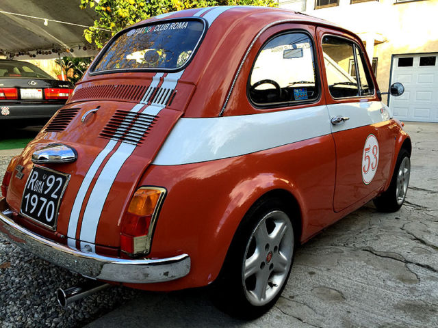 Classic 1972 Fiat 500 Owned By The President Of The