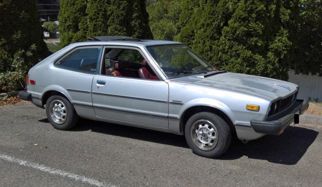 Honda Accord Lx >> Classic 1978 Honda Accord LX Ragtop Dealer Option for sale ...