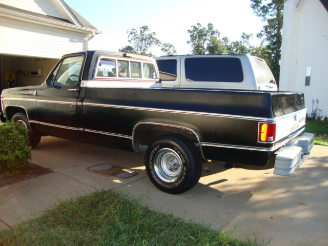 1980 chevy c10 custom deluxe