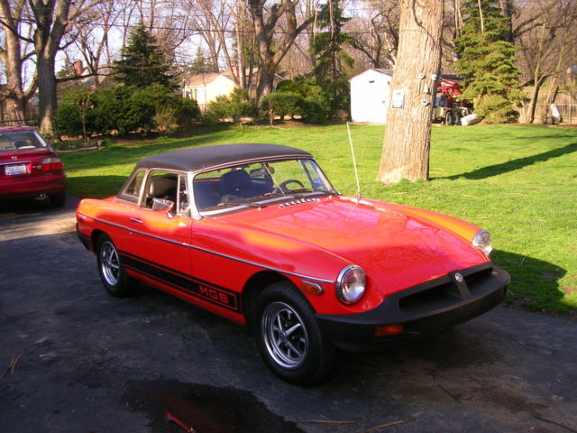 1980 MG MGB MGB CONVERTIBLE