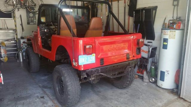 Classic 1984 Jeep CJ-7 with 4 0L Engine Swap for sale