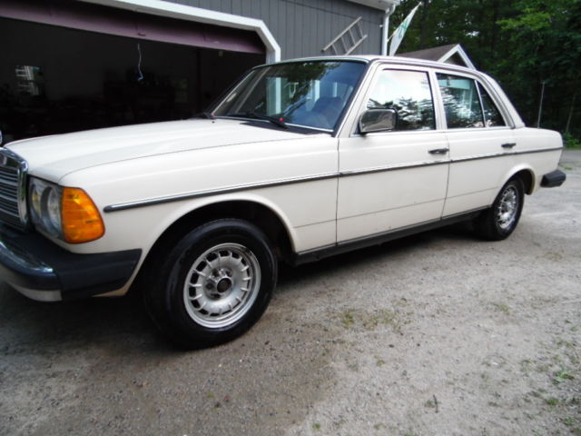 1984 Mercedes-Benz 300-Series Vegetable Oil Conversion