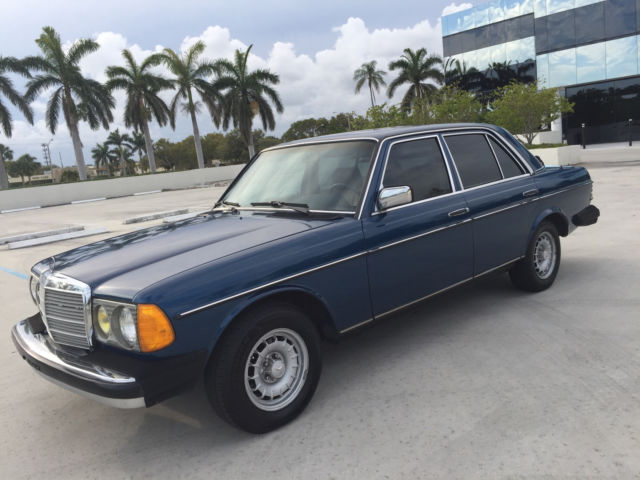 1985 Mercedes-Benz 300-Series 300D W123