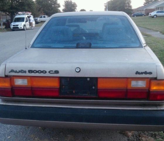 Classic 1987 Audi 5000 CS Turbo (Identical Quattro Parts