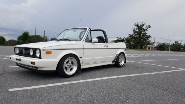 1988 Volkswagen Cabrio Leather / Vinyl