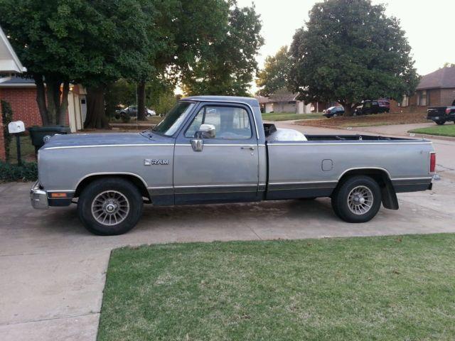 Classic 1989 Dodge Ram Truck D150 LE for sale: photos ...
