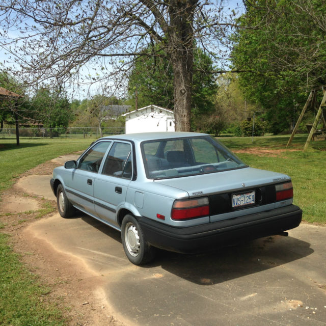 Classic 1989 Toyota Corolla For Sale: Photos, Technical